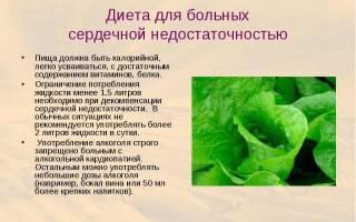 Мочегонные травы при сердечной недостаточности